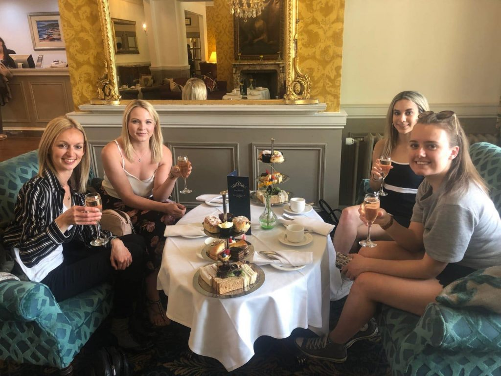 Afternoon Tea at The Norfolk Royale Hotel in Bournemouth