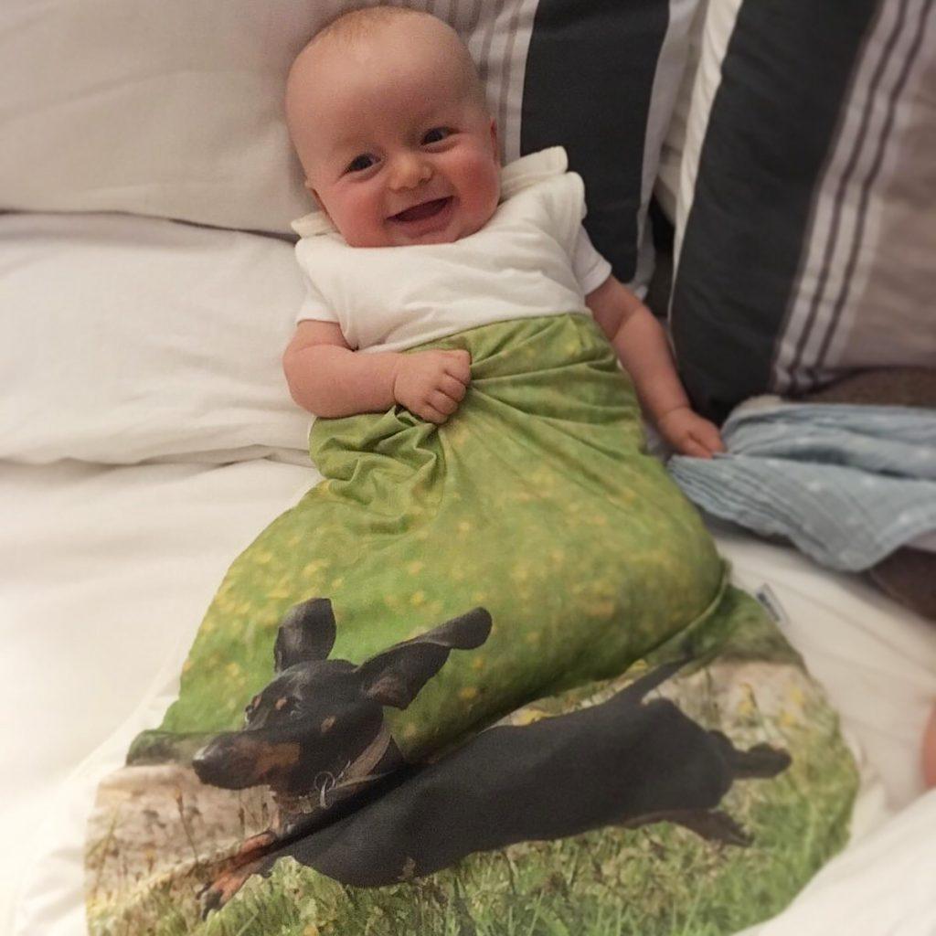Slumbersac personalised Baby Sleeping Bag