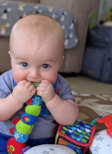 The Hungry Caterpillar Teething Toy for Babies
